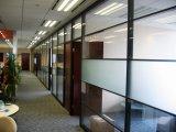 オフィスのための現代取りはずし可能なガラス隔壁