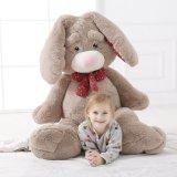 Plush Jumbo Rabbit Hair Soft Fluffy Stuffed Kids Buddy Toy