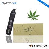 Cigarette électronique d'herbe sèche plus pure du goût 2200mAh Tem-Contorl de Taitanvs Hebe