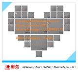 плитки доски 595X595X7mm прокатанные PVC, плитки потолка PVC