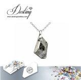 Het Kristal van de Juwelen van het lot van de de Zilveren Tegenhanger & Halsband van de Ridder Swarovski