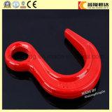 ISO9001 Haak van het Hijstoestel van het Oog van het Roestvrij staal van de fabrikant de Standaard