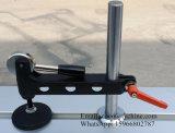 木工業機械装置3000mmの円形の棒の柵は90度の滑走表見た