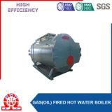 Caldera de agua caliente de gas de la operación automática para el hotel