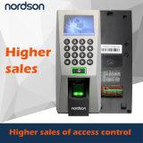 Terminale di presenza del &Time di controllo di accesso dell'impronta digitale Fr-F18