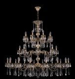 로비 호화스러운 수정같은 천장 램프 (1702-16+8+8+8-335+265 CGW)