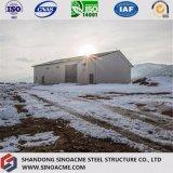 Costruzione della struttura d'acciaio della Lungo-Portata per il workshop