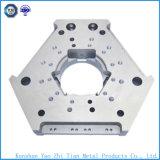 Peça feita à máquina CNC quente da venda com parte de alumínio anodizada