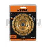 Kseibi 두 배 줄 유형 다이아몬드 바퀴 컵 바퀴