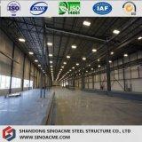 Costruzione strutturale d'acciaio prefabbricata galvanizzata/memoria liberata di/magazzino