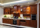 Cabina 2017 de cocina por encargo de madera sólida de la oferta de la fábrica E1 del nuevo diseño de Bck