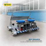 Vehículo automatizado ultrasónico portable de la detección del defecto del carril