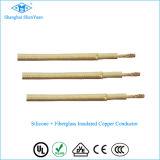 0.5mm2, 0.75mm2, 1.0mm2, 1.5mm2, alambre del silicón 2.5mm2