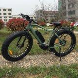 26*4.0 인치 뚱뚱한 타이어 중앙 드라이브 전기 자전거
