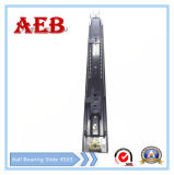 2017furniture는 냉각 압연한 강철을 Aeb4503-550mm 밑바닥 거치한 볼베어링 서랍 활주를 위해 선형 3개 매듭 주문을 받아서 만들었다