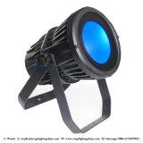 200W Rgbaw+UV 6 em 1 luz impermeável da PARIDADE da ESPIGA