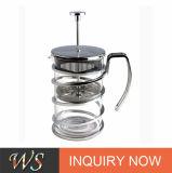 2016 la glace de Borosilicate neuve du type 1000ml plaquent la presse de Français de générateur de thé de café