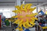 Balão inflável da decoração do teto, esfera inflável da iluminação com chifres C2024