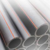 Tubo plástico del HDPE del precio razonable para la explotación minera
