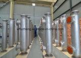 電力産業で使用される螺線形の傷の管の熱交換器