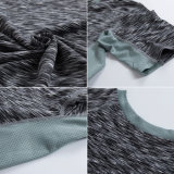 Camiseta de la ropa de la gimnasia del desgaste de la aptitud de la compresión de los hombres de Dt0853 Neleus