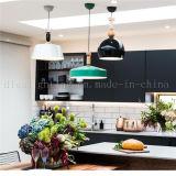 屋内照明のための簡単な様式の緑色アルミニウムハングランプ