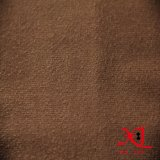 Polyester 100% ein seitliches Veloursleder-Polyester-Gewebe für Sofa/Schuhe