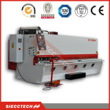 Guillotina plateada de metal hidráulica que pela la máquina que pela de Machine/CNC