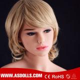 Erwachsenes lebensgrosses Silikon-fällige reale Geschlechts-Puppe der Cer-Bescheinigung-140cm