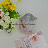 Mateiral composto feito sob encomenda do malote de pé com produto comestível
