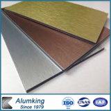 Пожаробезопасная алюминиевая составная панель стены для напольного украшения