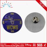 Divisa del botón del Pin del acero inoxidable revisada por Disney