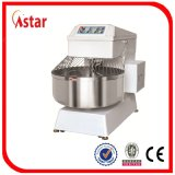 Venta al por mayor precio de fábrica 130L 50kg Double Speed ​​doble motor Spiral Dough Mixer para pan de pizza Biscuit Bakery Shop