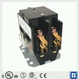 China bildete Wechselstrom-Klimaanlagen-Kontaktgeber 2 Polen 20A 24V Qualität UL-Bescheinigung