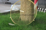 Покрытие порошка крома зеркала влияния плакировкой золота металлическое для вентилятора