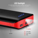 Cobrar rápido portuário do USB da capacidade elevada 3 do banco 20000mAh da potência
