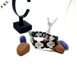 2017 отклоняя браслетов оптовых ювелирных изделий Zircon креста нержавеющей стали Unisex