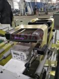 Bolso de alta velocidad que hace la máquina con el programa piloto servo