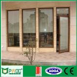 Aluminiumflügelfenster-Tür 2015 Shanghai-Pnoc