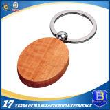 Llavero de madera redondo elegante para Souvernir (Ele-K069)