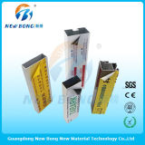 Películas protectoras usadas de pila de discos del PVC del PE para las secciones de aluminio