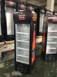 235L 유리제 문 강직한 쇼 케이스 냉각기