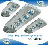 Alta qualidade USD128.5/PC do Sell de Yaye 18 a melhor para a luz de rua do diodo emissor de luz 120W com excitador de Meanwell & microplaquetas & garantia de Bridgelux 3 anos