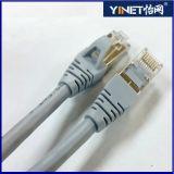 CAT6 защищаемый Snagless кабель заплаты локальных сетей (SSTP/SFTP) в черноте 20 футов