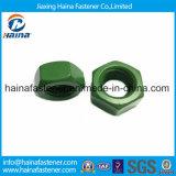 DIN934 porca Hex de aço inoxidável 304 com superfície do Teflon