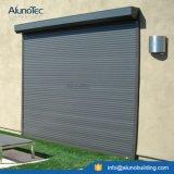 Ventana vertical motorizada aluminio del rodillo de la buena calidad