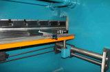 Maquinaria de doblez de la placa de acero Wc67y-125X4000