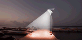 Bluesmart hoher Umrechnungssatz von Suns einteiligen Solarstraßenlaterneder Strahlungs-15W-100W