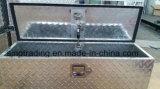 Caja de herramientas de aluminio resistente al agua Remolque con Gas Strut