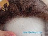 Линия Toupee волос природы человеческих волос для человека с фронтом шнурка